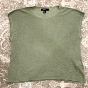 Forever 21 Olive Green Tank Sweater